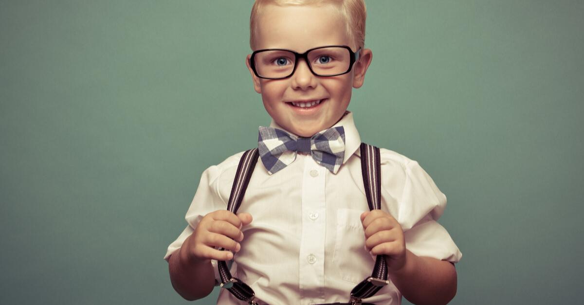 podsumowanie uśmiechnięte dziecko